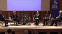 """The Graduate Center, CUNY hosted """"Perspectives on National Immigration Reform and New York City,"""" on April 19, 2013. """"Perspectives"""" was moderated by Errol Louis, host of NY1's """"Inside City Hall"""" and adjunct professor, CUNY Graduate School of Journalism."""