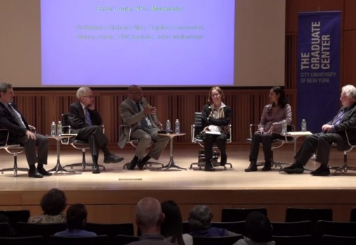 Graduate Center Immigration Panel