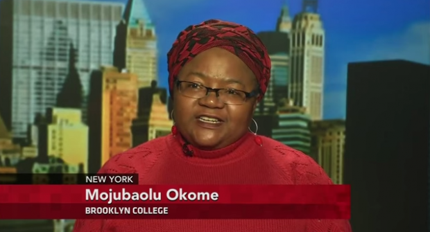 Mojúbàolú Olúfúnké Okome Discusses Abduction of Girls by Boko Haram, Nigeria on PBS Newshour