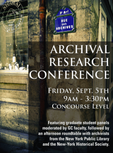 Archival-Research-Conference
