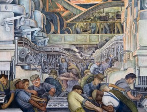 Diego Rivera's Detroit Industry