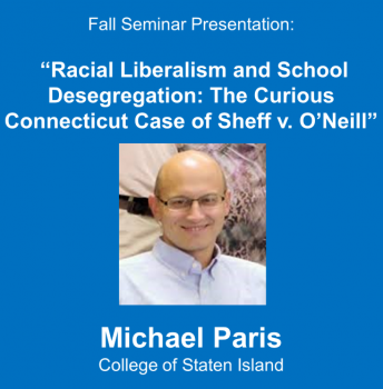 "Commentary on Michael Paris's ""Radical Liberalism and School Desegregation"""