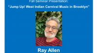 Ray Allen is the first ethnomusicologist ARC faculty fellow. His work focuses on American folk and popular music within New York City music cultures. His latest project deals with the […]
